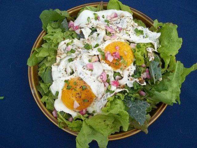 A different kind of egg salad