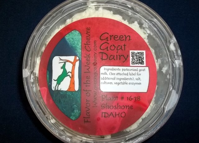 Green Goat Dairy herbed chevre