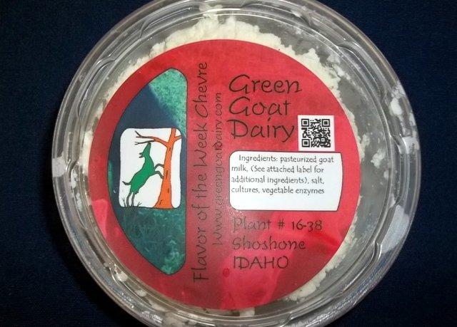 Green Goat Dairy herbed chevre