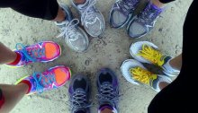 These shoes were made for running.