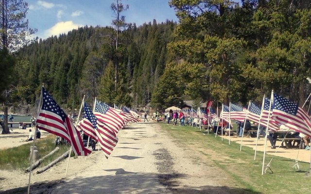 Redfish Lake Memorial Day Run