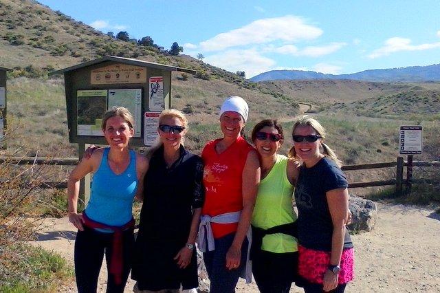 Las Divas En Fuego: Lindsay, Dina, Jen, Susan and Chris