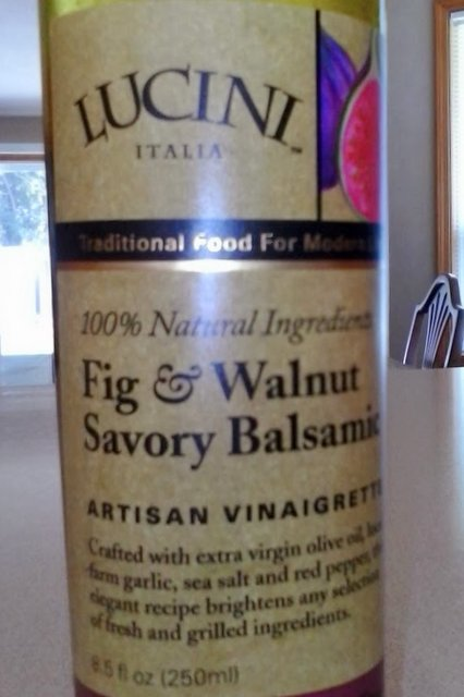 Lucini Fig & Walnut Balsamic