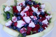 Ease post-holiday bloat with beets, blueberries and chevre