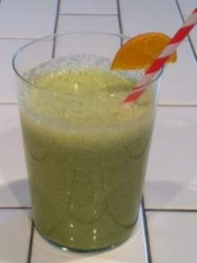 Clementine, Romaine, Cucumber, Coconut Water, Ginger
